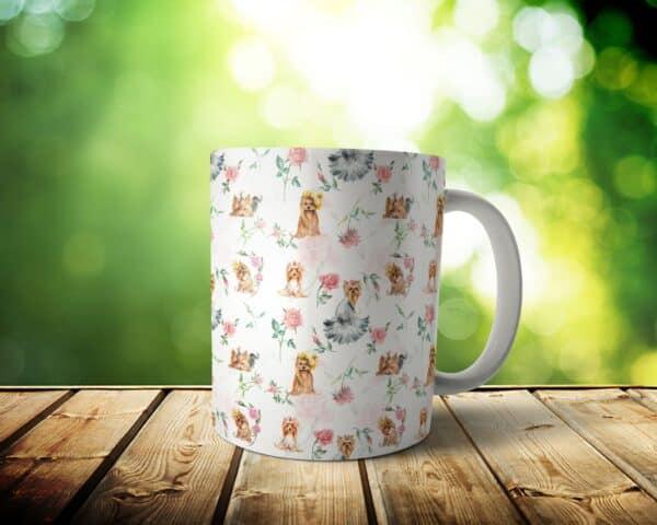 Yorkie Mug – Custom Dog Mom Gift / Dog Dad Gift – 11 & 15 oz – Yorkie Lover Coffee Cup