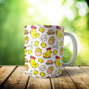 il fullxfull.2062580246 bz0k 300x300 - Clucking Chicken Mug - Custom Chicken Gift - 11 & 15 oz - Kawaii cute Lover Coffee Cup