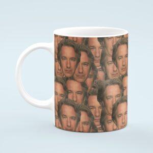 Alan Rickman Mug – Custom Celebrity Gift – 11 & 15 oz – Alan Rickman Lover Coffee Cup