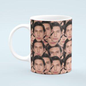Adam Driver Mug – Custom Celebrity Gift – 11 & 15 oz – Adam Driver Lover Coffee Cup