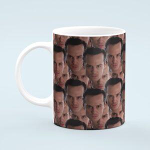Andrew Scott Mug – Custom Celebrity Gift – 11 & 15 oz – Andrew Scott Lover Coffee Cup