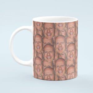 Bruce Willis Mug – Custom Celebrity Gift – 11 & 15 oz – Bruce Willis Lover Coffee Cup