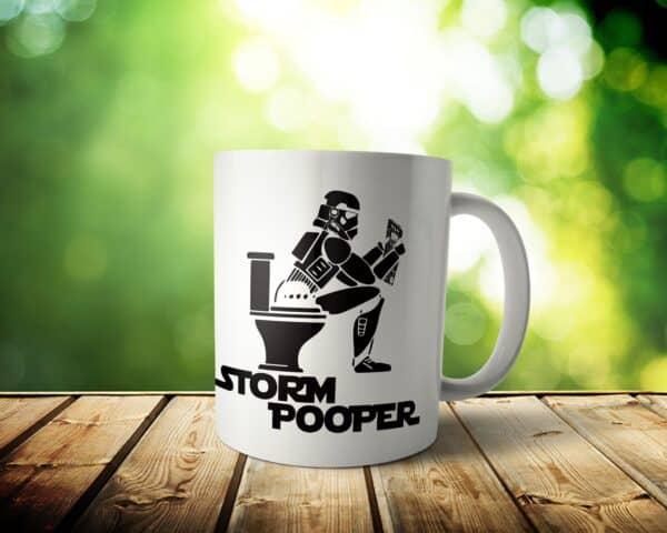 Storm Pooper Mug -11 & 15 oz – Storm Trooper Lover Coffee Cup