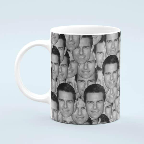 Tom Cruise Mug – Custom Celebrity Gift – 11 & 15 oz – Tom Cruise Fan Coffee Cup