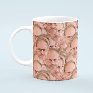 Alton Brown Mug – Custom Celebrity Gift – 11 & 15 oz – Alton Brown Lover Coffee Cup