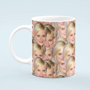 Amy Poehler Mug – Custom Celebrity Gift – 11 & 15 oz – Amy Poehler Lover Coffee Cup