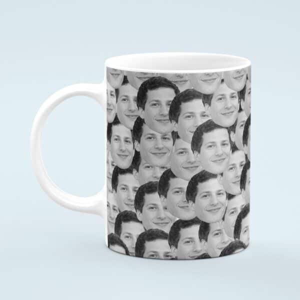 Andy Samberg Mug – Custom Celebrity Gift – 11 & 15 oz – Andy Samberg Lover Coffee Cup