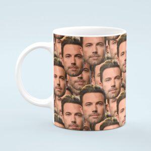 Ben Affleck Mug – Custom Celebrity Gift – 11 & 15 oz – Ben Affleck Lover Coffee Cup