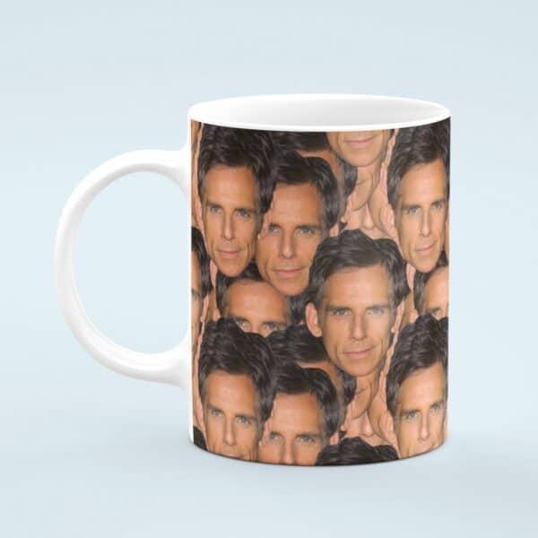 Ben Stiller Mug – Custom Celebrity Gift – 11 & 15 oz – Ben Stiller Lover Coffee Cup