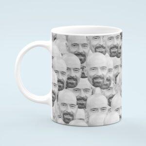 Bryan Cranston Mug – Custom Celebrity Gift – 11 & 15 oz – Bryan Cranston Lover Coffee Cup