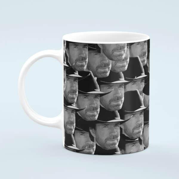 Chuck Norris Mug – Custom Celebrity Gift – 11 & 15 oz – Chuck Norris Lover Coffee Cup
