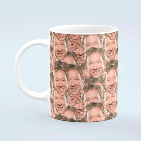 Tim Allen Mug – Custom Celebrity Gift – 11 & 15 oz – Tim Allen Fan Coffee Cup
